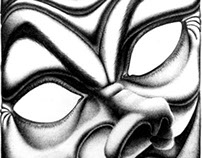 black pen drawings (1997)