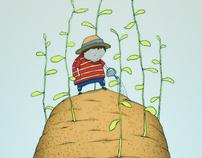 gardener on potato island