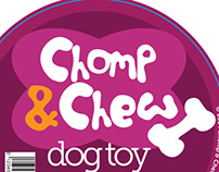 Chomp & Chew Label Concept
