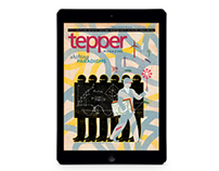 Tepper Alumni Magazine, iPad Edition