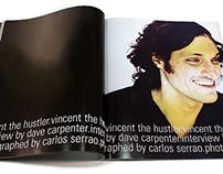 Bleach Magazine: Vincent Gallo spread
