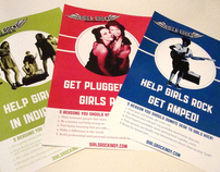 Girls Rock! Indianapolis Promotional Material