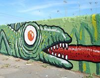 CONNECTING ART - mural en Necochea