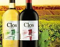 Campaña Nuevas botellas vino Clos de Pirque