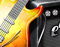 Guitar Tab Music Maker iOS Application Icon