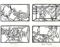 Storyboarding: House on Haunted Hill