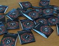 Zodiac Sign Button Packs