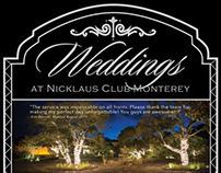 Nicklaus Club Wedding Poster