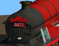 Olton Hall - Hogwarts Express Revit Family