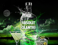 Absolut Cilantro | Night Concept