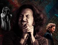 Eddie Vedder Photoshop Manipulation Piece