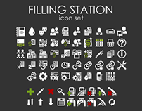 Filling Station Icons