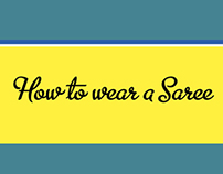 Infographics- How to wear a Saree