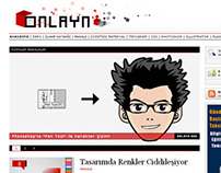Onlayn - WordPress Tema (2009)