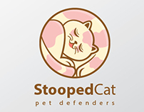 StoopedCat Logo Template