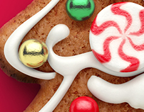 3D Children's Christmas Gingerbread - Packaging
