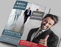 Business Management Newsletter   Modern Design