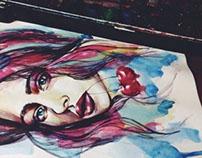 Sketchbook.Cherry girl