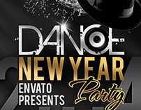 New Year / Dance Party Flyer