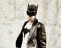 50's Rockabilly Batman Cosplayers & Fan Art