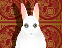 Chinese White Rabit
