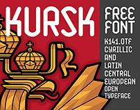 KURSK / K141 / Free Font
