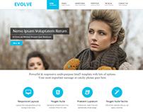 EVOLVE - Responsive Multi-Purpose HTML5 Template