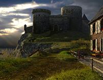 Cliff (3D Environment)