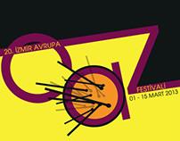 20. İzmir Avrupa Caz Festivali Poster