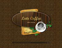 Late Coffee Dynamic Flash Template