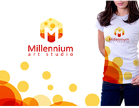 Millennium Art Studio Branding