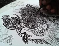 Missygraphiksto's wonder doodles portraits #048