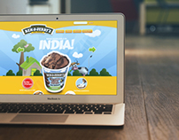 Website Design for Ben & Jerry's