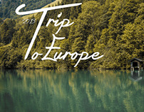 My Trip To Europe .. Just A Moment's لحظات