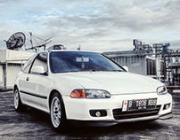Photoshoot Honda Civic Estilo 94'