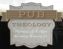 Redemption City Church Pub Theology Poster Winter 2013