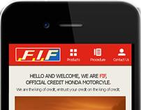 UI/UX Mobile App FIF