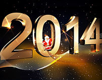 "2014 Calendar ""Happy New Year"""