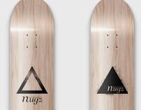 nugz / skateboard / triangular