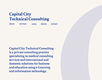 Cap City Tech Website Design
