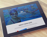 Swim Safe | Website Mockup