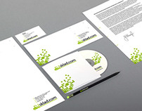 Logo and corporate identity of Sklad.kom