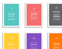 Quote Posters | Typography