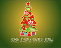 "After Effects generated ""Season Greetings from HDM"""