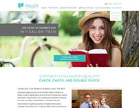 Miller Orthodontics responsive site