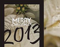 [ - ] Christmas greetings 2013