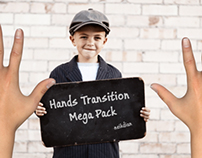 Photorealistic Hands Transition Mega Pack