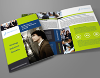 Company Brochure Bi-Fold Template Vol.12