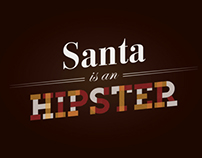Santa is an Hipster
