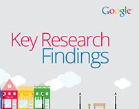 Google Key Research Findings Presentation